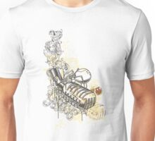 Music-mic-illustration Unisex T-Shirt