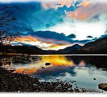 Snowdonia Sunset by shortshanks
