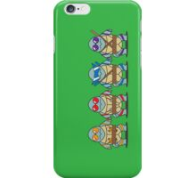 Teenage Mutant Squirtle Squad iPhone Case/Skin