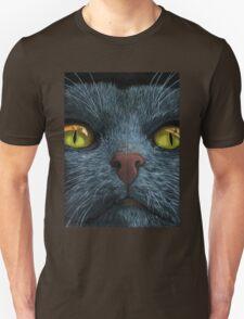 Cat Visions - black cat fun Unisex T-Shirt