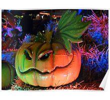 Rainbow Pumpkin Poster