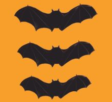 Halloween Special 3 Bats T-shirt by bardenne