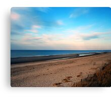 The Cold Beach Canvas Print