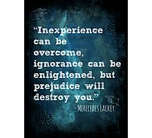 Inexperience Can Be Overcome Photographic Print