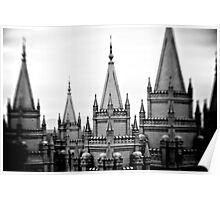 LDS Salt Lake Temple Poster