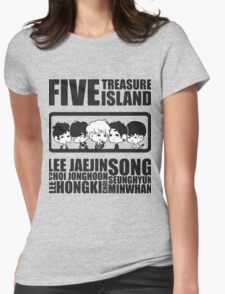 FTISLAND Chibi 2 Womens Fitted T-Shirt