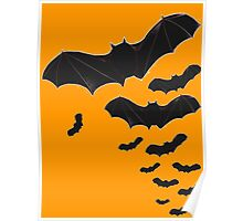 Halloween Special! - Flying bats poster Poster