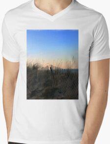 Seaside Mens V-Neck T-Shirt
