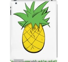 You Know That's Right iPad Case/Skin