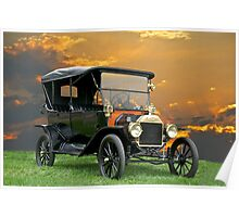 1914 Ford Model T Touring Car Poster