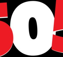 Arctic Monkeys 505 Sticker