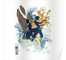 Avatar Bender Poster