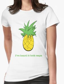 I've Heard it Both Ways Womens Fitted T-Shirt