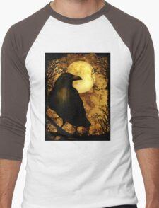 The Raven Men's Baseball ¾ T-Shirt