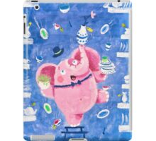 Elephant in a porcelain shop - Clumsy Rondy the Elephant iPad Case/Skin