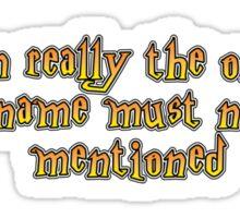 Im the one... Sticker