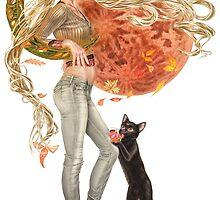Usagi and Luna by Aricson Tarasova