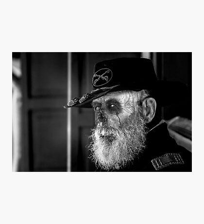 Zombie Civil War Soldier Photographic Print