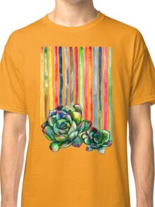Rainbow Succulents Classic T-Shirt