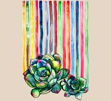 Rainbow Succulents Womens T-Shirt