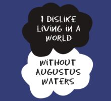 TFIOS - I Dislike Living in a World Without Augustus Waters by Connie Yu