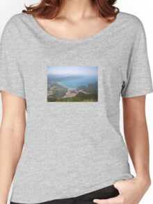 The Gulf of Gökova and Akyaka Town Women's Relaxed Fit T-Shirt
