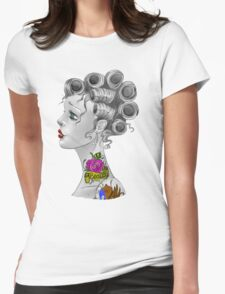 Tattooed Curlers Womens Fitted T-Shirt