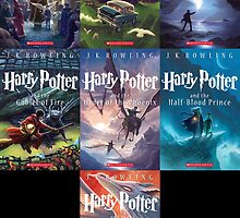 Harry Potter Covers (Scholastic) by TrentCurtis