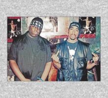 Biggie Smalls and Tu-Pac  by BossClothing