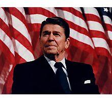 President Ronald Reagan Photographic Print