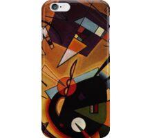 Kandinsky - Black and Violet iPhone Case/Skin