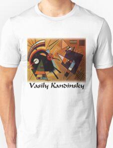 Kandinsky - Black and Violet T-Shirt