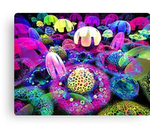 song of the jellyfish Canvas Print