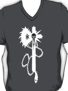 """Skulled Bastard-axe White"" T-shirt T-Shirt"