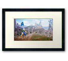 Knights Journey Framed Print