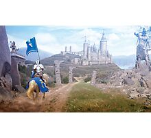 Knights Journey Photographic Print