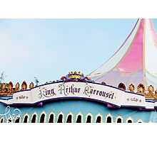 King Arthur's Carousel Photographic Print