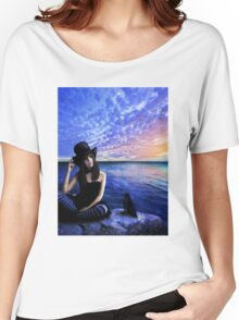 Sara Poet of My Heart Women's Relaxed Fit T-Shirt