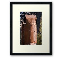 Chimney in Rural Australia Framed Print