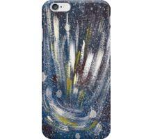 electro cosmic blue 1 iPhone Case/Skin