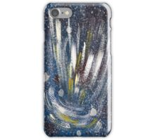 electro cosmic blue 1 iPhone Case/Skin