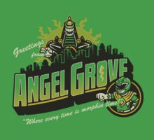 Greetings from Angel Grove! (Green Ranger) by Brandon Wilhelm