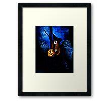 Samhain Witch Framed Print
