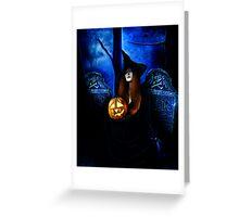 Samhain Witch Greeting Card