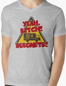 Breaking Bad Inspired - Yeah, Bitch! Magnets! - Jesse Pinkman Magnets - Magnet Truck - Walter White - Heisenberg Mens V-Neck T-Shirt