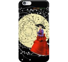Girl In Flowers iPhone Case/Skin