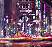 Future Tokyo by Anthony  Christou