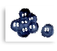 Silly Soot Sprites Canvas Print
