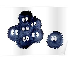 Silly Soot Sprites Poster
