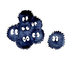 Silly Soot Sprites Photographic Print